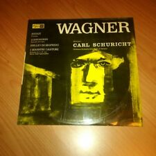 LP WAGNER CARL SCHURICHT RIENZI LOHENGRIN ... SMS 2246 VG+/NM ITALY PS  PV