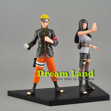 Naruto Shippuden 2pcs Set Figures Statue The Last Movie Hinata & Naruto NEW 7''