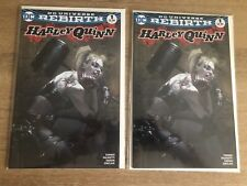 Harley Quinn #1 Rebirth Color Dell'Otto Variant NM Unread