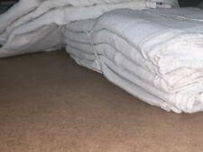"""1000 new great mechanics shop rags towels white 13""""X14"""""""