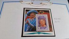 Isole Vergini britanniche 1990 SG MS750 90TH compleanno della Regina Madre Gomma integra, non linguellato