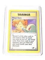 MISTY'S TEARS - Gym Challenge - 118/132 - Trainer - Uncommon - Pokemon Card - NM