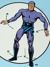 The PHANTOM COMIC SUPERHERO HANGUP FIGURE -1989, Mint in Package ! 'Life-Size'