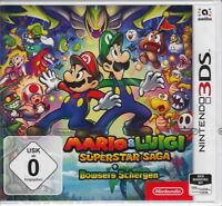 Mario & Luigi Super Star Saga + Bowsers Schergen für Nintendo 3DS Neu & OVP