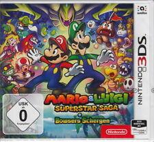 Mario & Luigi Super Star saga + Navigations Sbires Pour Nintendo 3 DS NOUVEAU & NEUF dans sa boîte