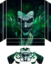 Batman Joker PS4 Vinyl skin decal plus one controler skin