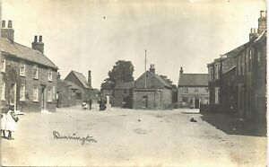 Dunnington near York. Two Girls.