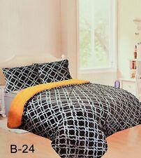 Borrego Flannel Fleece Blanket Shams 3 pc California King Gray Charcoal