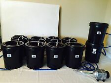 Hydroponics Recirculation DWC grow system 50 Gallons waterfarm 8 pack kit