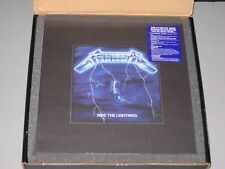 METALLICA  Ride the Lightning Deluxe Box Set 4LP/6CD/DVD/Book New Sealed Vinyl