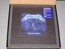 METALLICA  Ride the Lightning Deluxe Box Set 4LP/6CD/DVD/Book New Sealed Vinyl