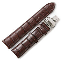 20mm Italian Leather Alligator Embossed Watch Band Strap For RAYMOND WEIL GENEVE