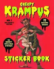 Krampus Sticker Book: 72 Reusable Stickers For Naughty Girls And Boys Of All ...