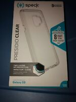 Speck Presidio Clear Case Cover for Samsung Galaxy S9 - Clear New Authentic !!!