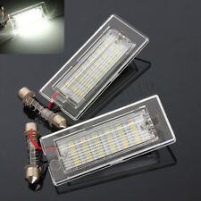 2X No Error 18 LED Number License Plate Light Lamp For BMW X5 E53 X3 E83 03-10
