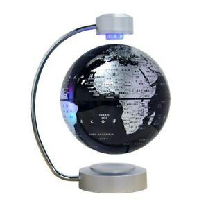 8 inch Maglev Globe Self Rotating Large Creative Craft Magnetic Levitation Globe
