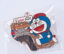 Doraemon 2005 The Open Championship TV Asahi Media Pin Tokyo Japan Sealed New