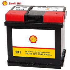 Shell SR1 Autobatterie 12V 53AH Starterbatterie ersetzt 44Ah 45Ah 46Ah 50Ah 52Ah