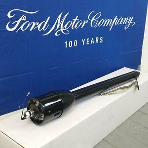 1966 - 1973 Ford Bronco 32 Black Tilt Steering Column No Key Floor Shift auto