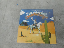 GLEN CAMPBELL-RHINESTONE COWBOY-LP-EMBOSSED COVER-PROMO-SIGNED-AUTOGRAPHED