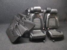 Lederausstattung VW Passat 3C Sportsitze Leder Ausstattung Sitz Rückbank Alcanta