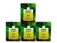 Khadi Mauri Herbal Black Henna Mehndi, 75m x 4 (Pack of 4)