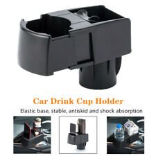 Universal Car SUV Dual Cup Holder Bottle Scalable Ashtray Mobile Phone Bracket