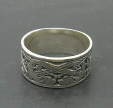 925 Sterling silver ring Drachen band R000284 Empress