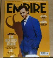 Empire Magazine Jun '21 The Mischief Maker Tom Hiddleston on the retirn of Loki