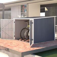 Fahrradgarage Bicycle Box Fahrradhaus Fahrradbox Bike-Box 5,6m³ stabil grau