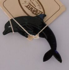Lazart Metal Art Dolphin Magnet Ocean Nautical Decoration USA Made New Unique 7