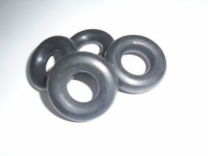 Triumph TR7 TR8 ** EXHAUST SUPPORT rubber RING ** Set of 4 - correct size !!