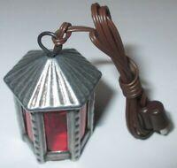 Laterne für Krippen Zinn 35mm  3,5 Volt    NEU//OVP LED Kahlert