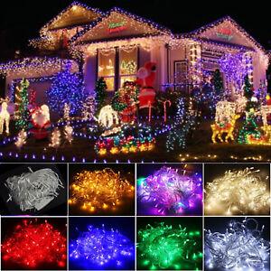 10m/20m/50m/100m LED Christmas Tree lights Fairy String Lights Party 110V/220V