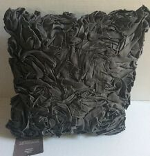 """Anthologyâ""""¢ Whisper 16"""" Square Toss Pillow in Pewter New"""
