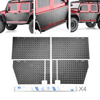 RC Car Door Metal Anti-skid Plate Set for 1/10 TRAXXAS TRX-4 Defender RC Crawler