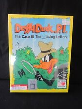 Daffy Duck P.I. Case of the Missing Letters PC Game IBM Box New Looney Tunes