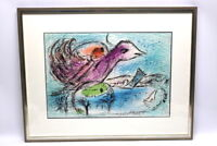Marc Chagall 1887-1985 Die Bucht Lithographie