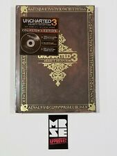 Uncharted 3: Drake's Deception Collector's Edition Hardcover Official Guide New