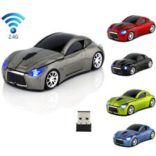 Sports Infiniti 2.4GHZ car Wireless Mouse USB game mice for PC Laptop Mac Gift