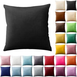Velvet Cushion Cover 45 x 45 cm Sofa Pillowcases Home Decor -24Colours