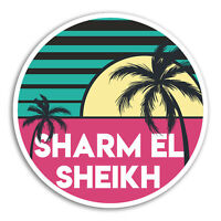 2 x 10cm Sharm El Sheikh Vinyl Stickers - Egypt Sticker Laptop Luggage #18649