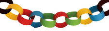 100 Pack of Multi-Colour Children's Party Paper Chain DIY Garland Decoration Fun