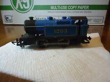Hornby Class D Steam Locomotive 0-4-0 #1203, Blue, Tank Engine