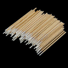 200pcs Makeup Wood Handle Stick Cotton Swabs Pointed Tip Buds Cleaning Tool Kits