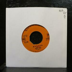 """Johnny Cash – Busted / Send A Picture Of Mother VG 7"""" Vinyl 45 Columbia 4-42665"""