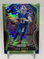2019-20 Prizm Josh Allen Green Pulsar Refractor 2nd Year Bills MVP?? BIN STEAL