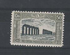 FRANCOBOLLI 1928 REGNO MILIZIA II° C. 50 MNH Z/1091