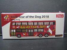 Tiny City Hong Kong Kmb Year of the Dog 2018 Bus Diecast Car