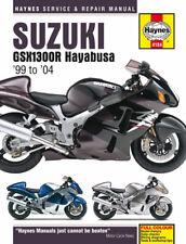 HAYNES REPAIR MANUAL SUZUKI GSX1300R HAYABUSA 1999-2004